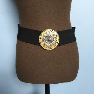 Vintage Boho Wide Chunky Stretch Belt